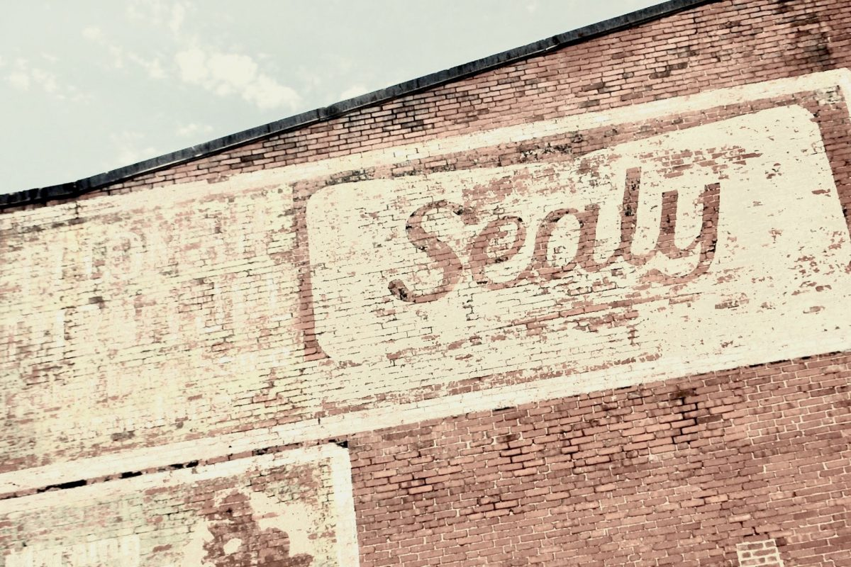 Sealy brand wall